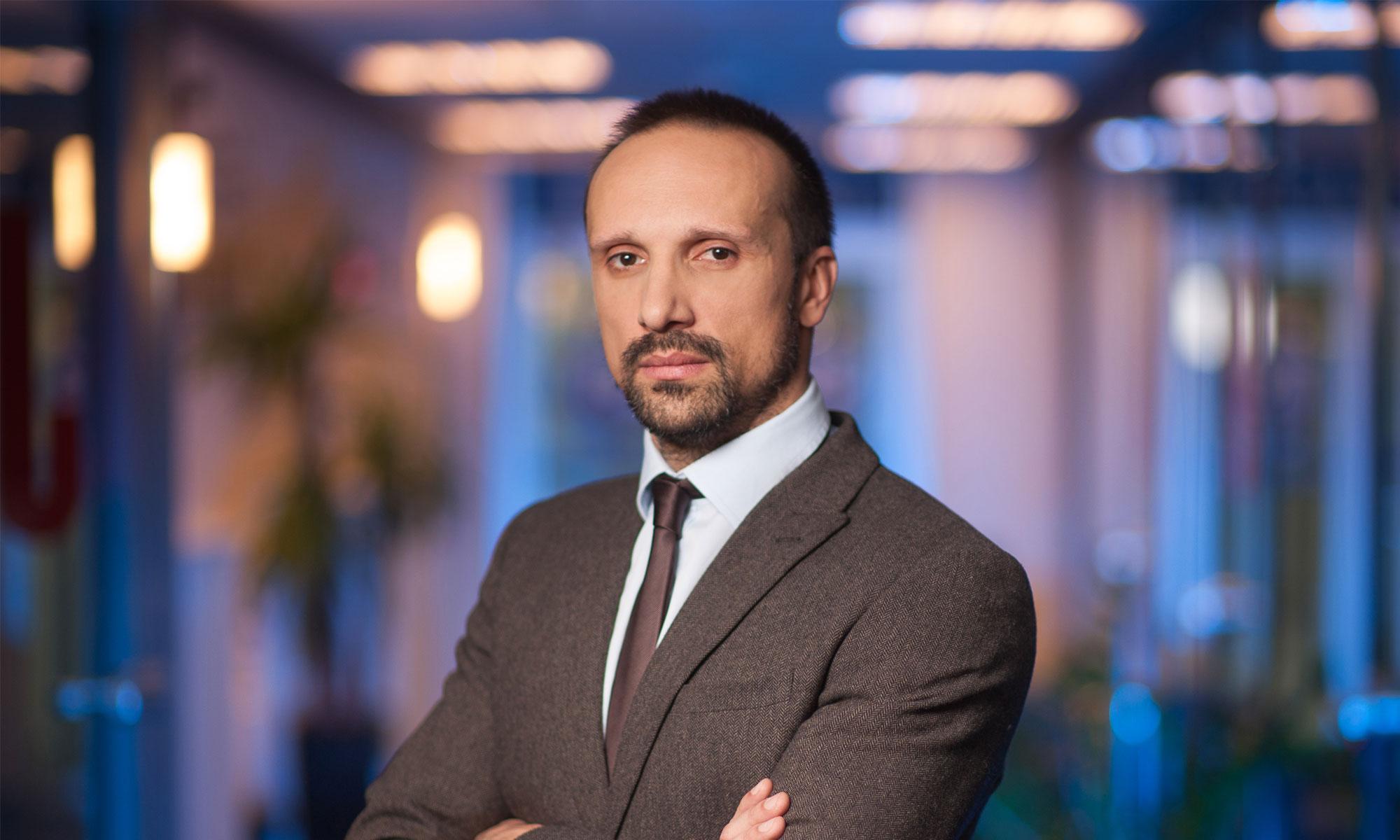 "Юрий Будяк, директор телеканала ""112 Украина"""