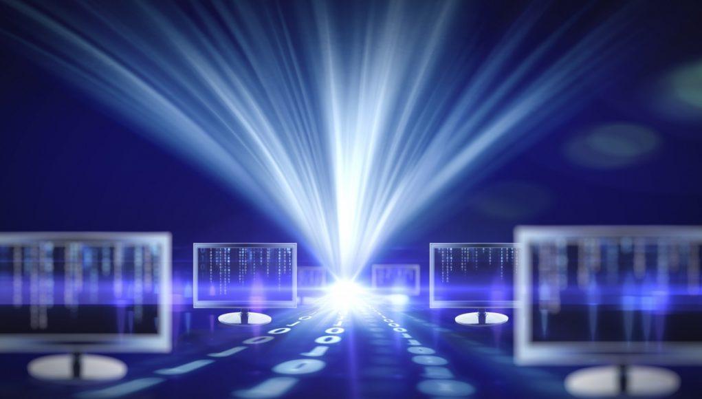 Световой интернет / internet light