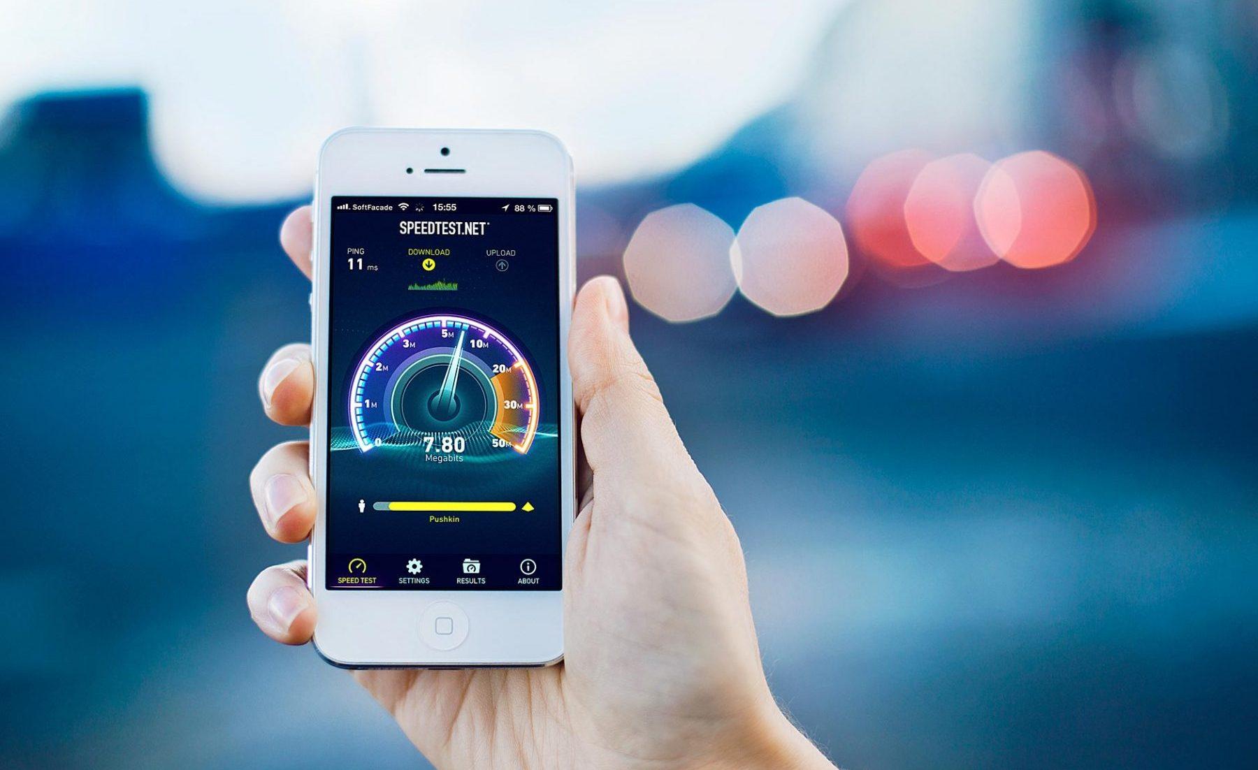 speedtest smartphone