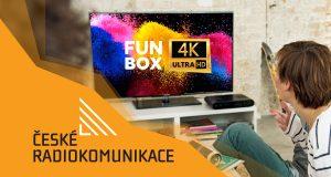 Канал FunBox 4K в сети DVB-T2 Чехия