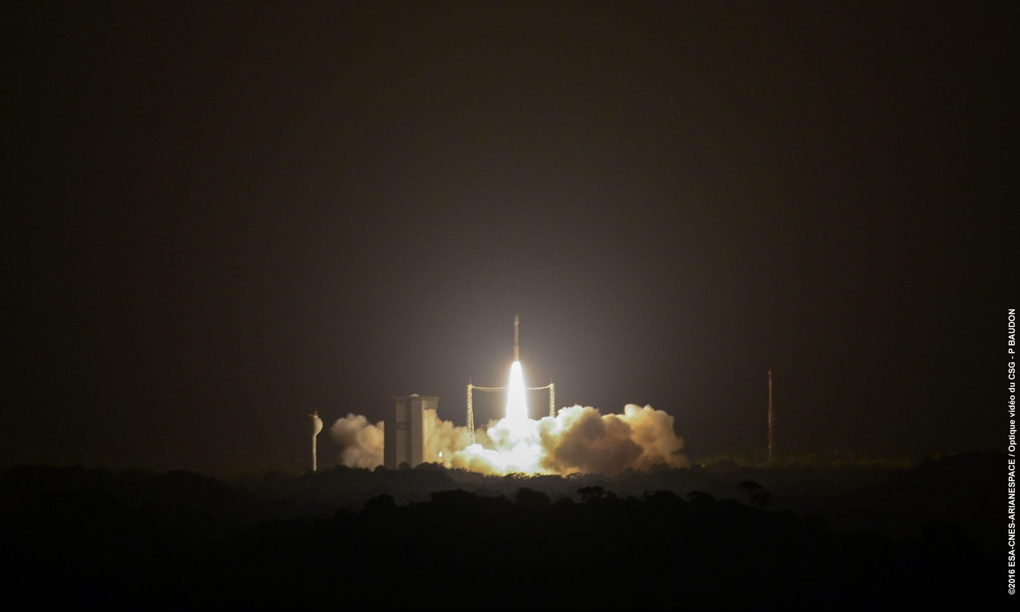 Arianespace's first Vega launch in 2016