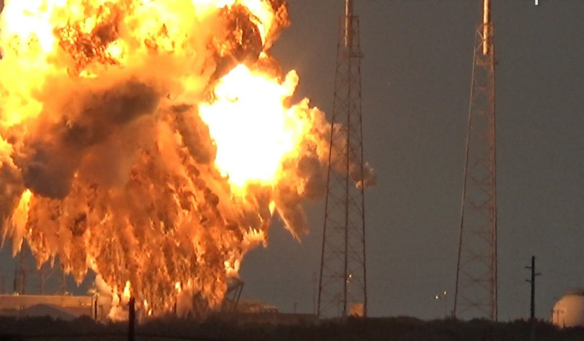 SpaceX's Falcon 9 rockets exploded