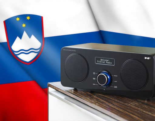 Slovenia digital radio / Словения цифровое радио DAB+