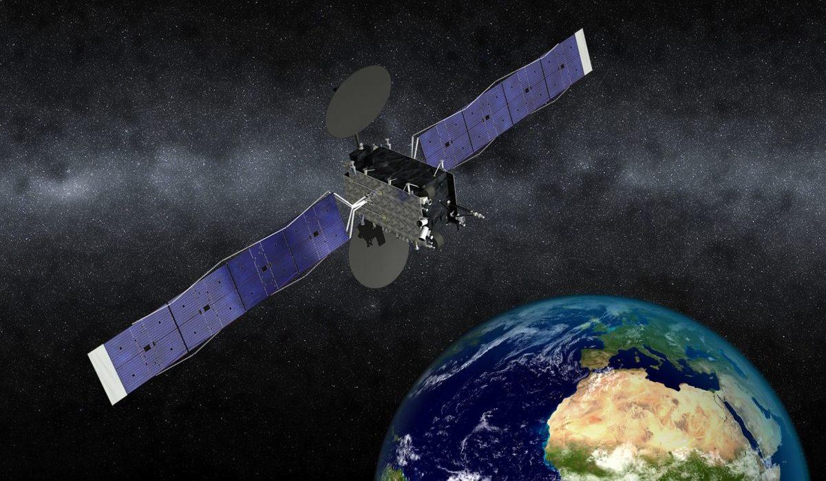 Спутник связи eutelsat