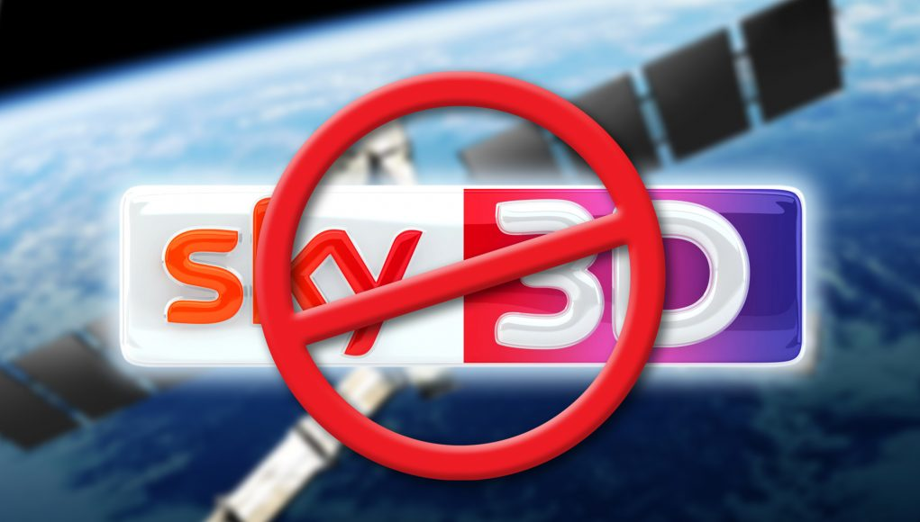 Sky D to close down 3D channel