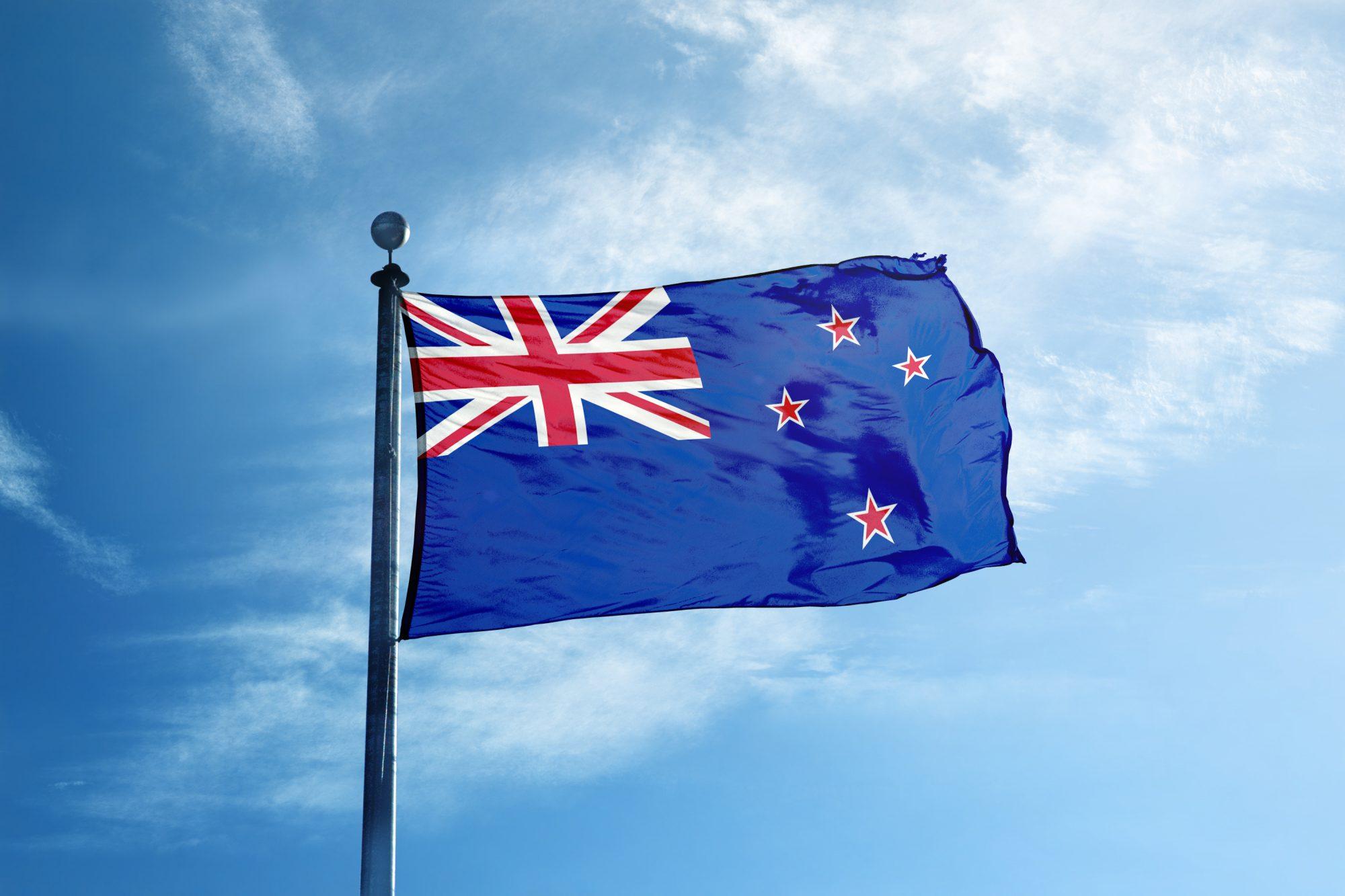 Флаг Новая Зеландия / New Zealand flag