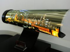 Samsung Scrollable TV