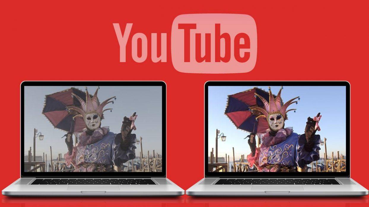 YouTube начал поддержку видео вформате HDR