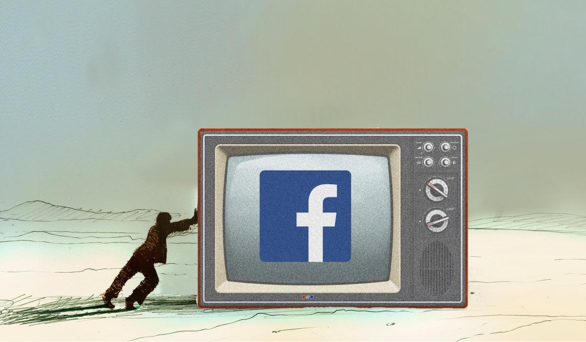 Facebook реклама на телевидении