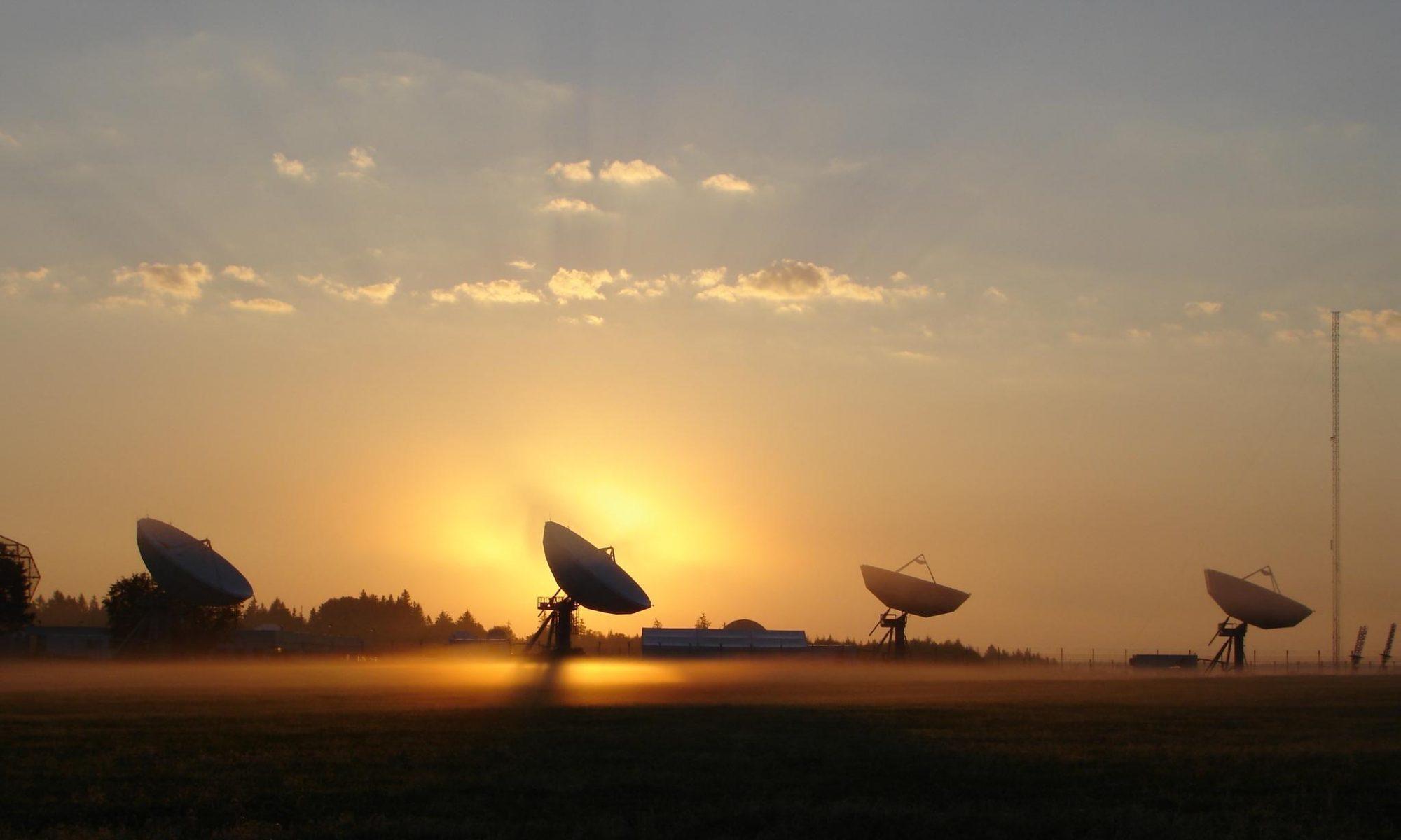 Спутниковый телепорт / teleport satellite