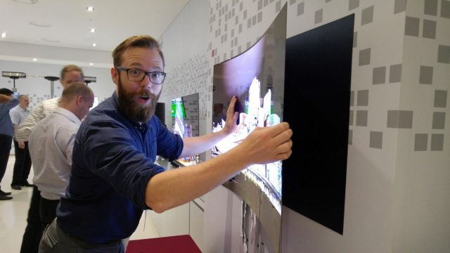 LG wallpaper Ultra HD OLED TV