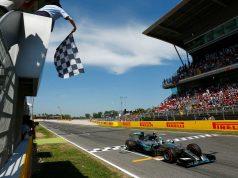 formula 1 finish line