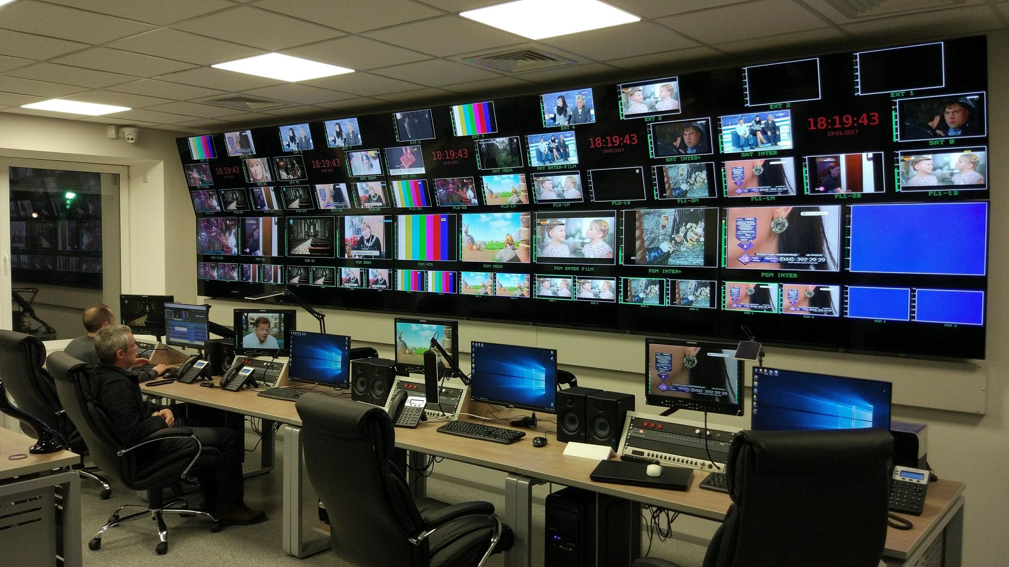 Новая многоканальная эфирная HD аппаратная «Интер Медиа Груп»