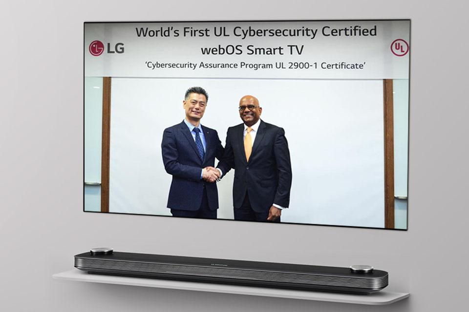 LG webOS 3.5 cybersecurity