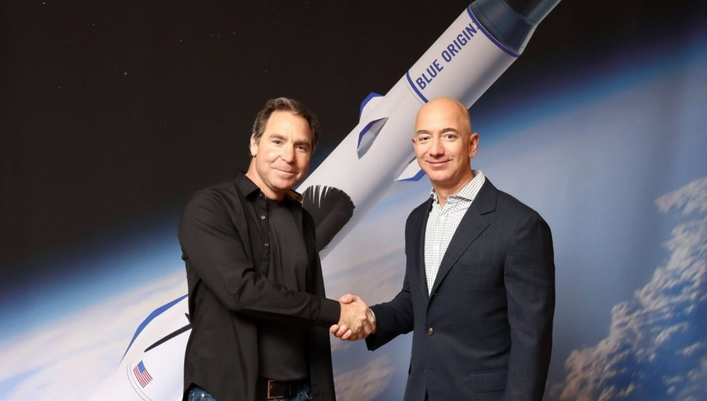 Greg Wyler and Jeff Bezos