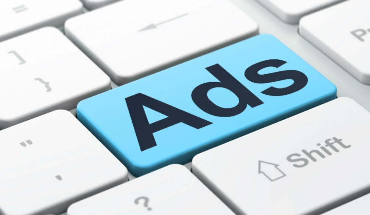 Internet advertising keyboard / реклама в интернете