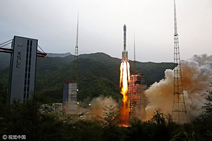Shijian 13 launch