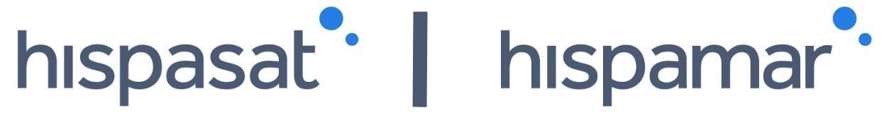 HISPASAT and HISPAMAR logo