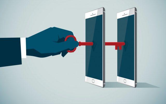 Hacker smartphone