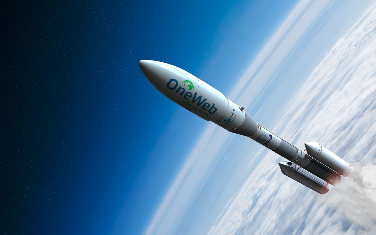 OneWeb rocket