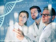 scientists and dna