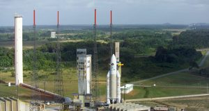 Французская Гвиана Arianespace / french guiana arianespace
