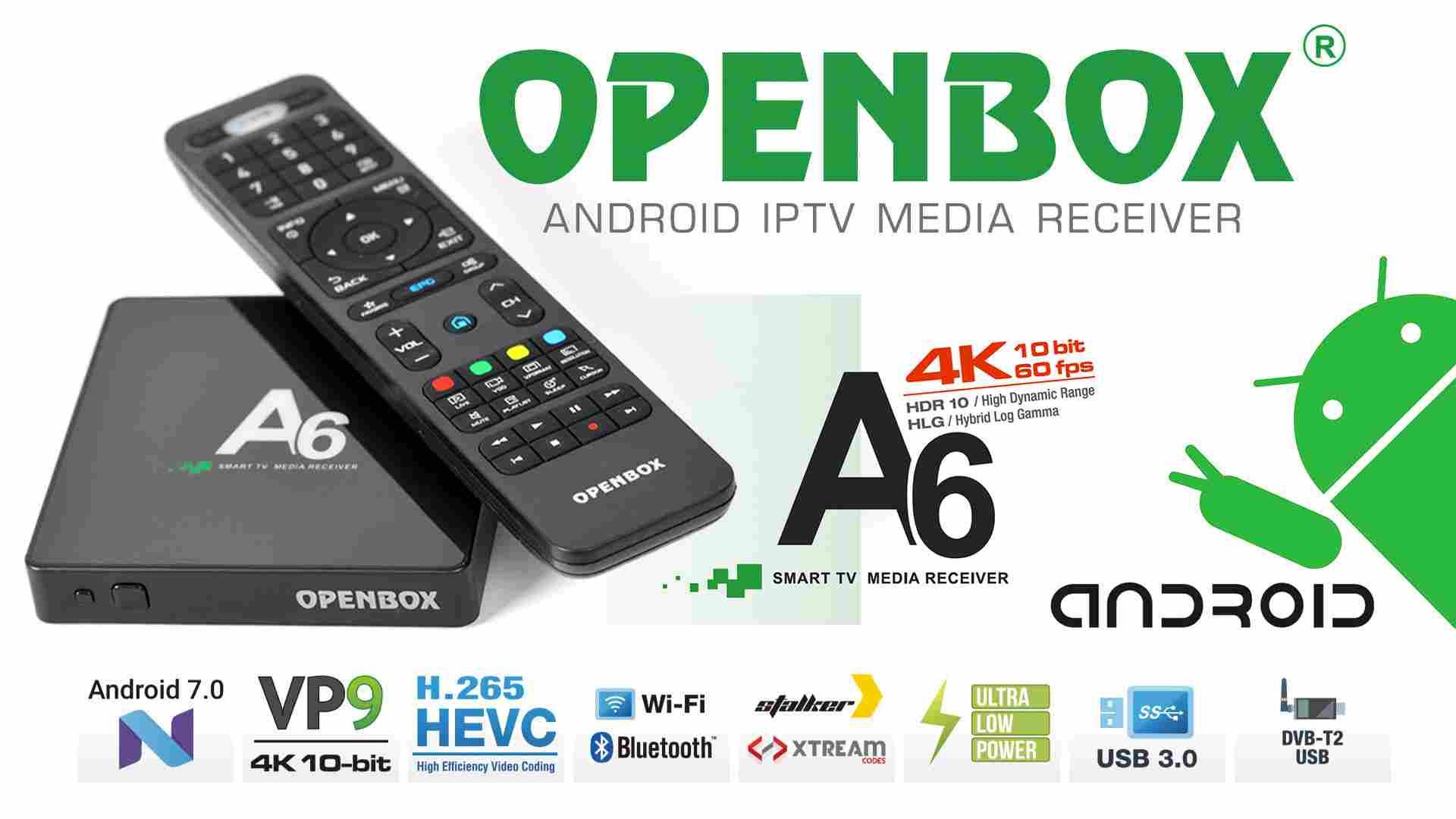 Openbox A6 UHD