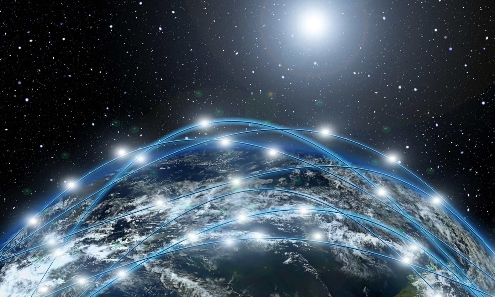 network earth / сети вокруг земли / интернет