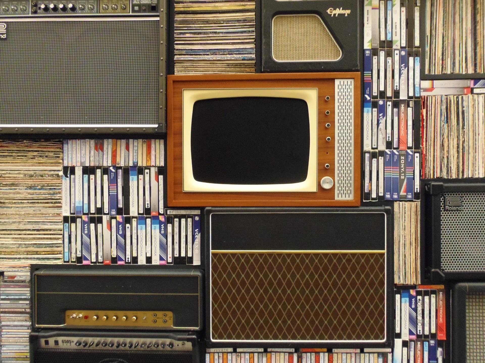Ретро ТВ / старый телевизор