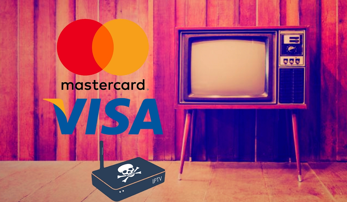 visa mastercard and piracy