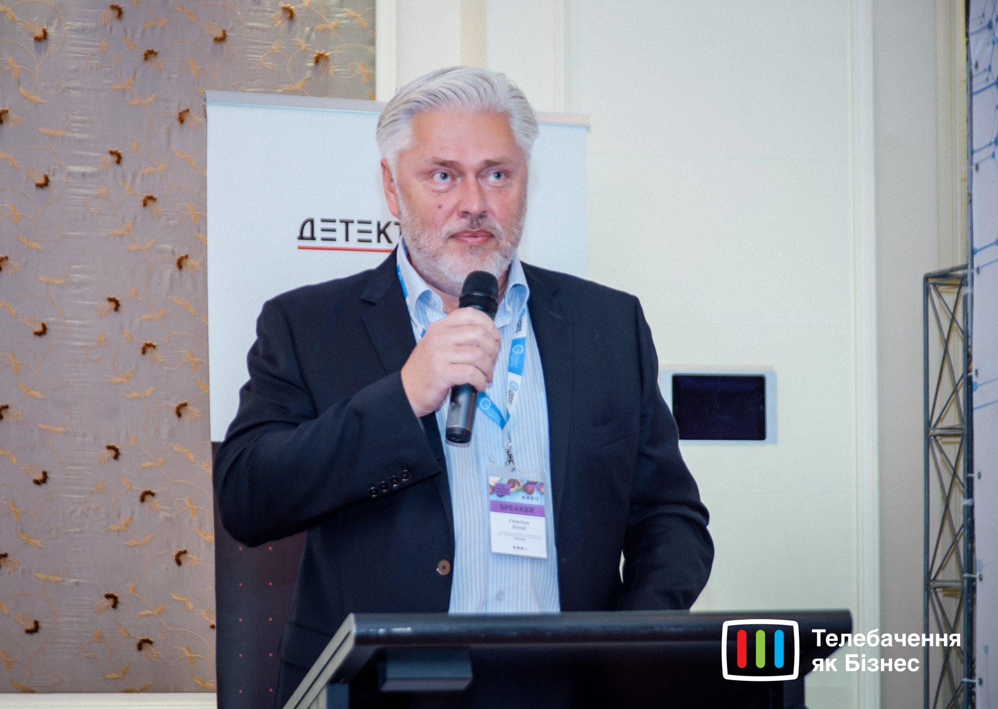 Валентин Коваль, член Національної ради України з питань телебачення і радіомовлення