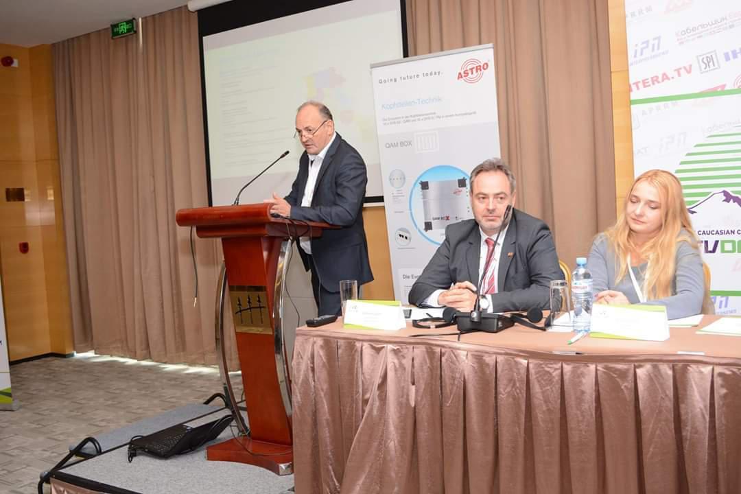 Арарат Арушанян, Президент Ассоциации кабельных телевещателей Армении