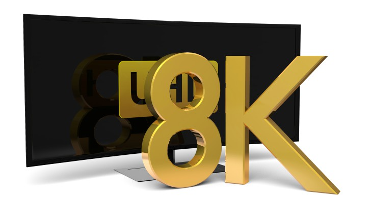8К-ТВ/8K TV