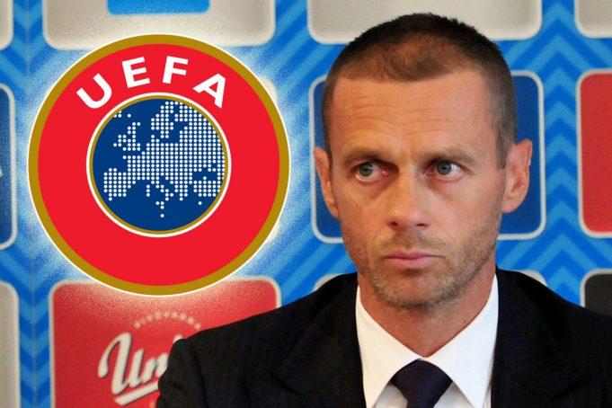 Президент UEFA Александер Чеферин / Aleksander Ceferin