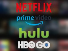 Netflix Amazon Prime Video Hulu and HBO GO