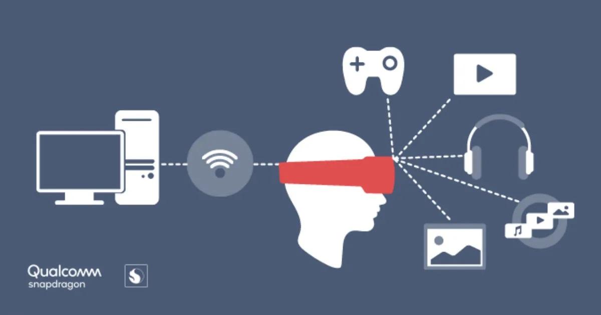 Qualcomm wireless VR headset