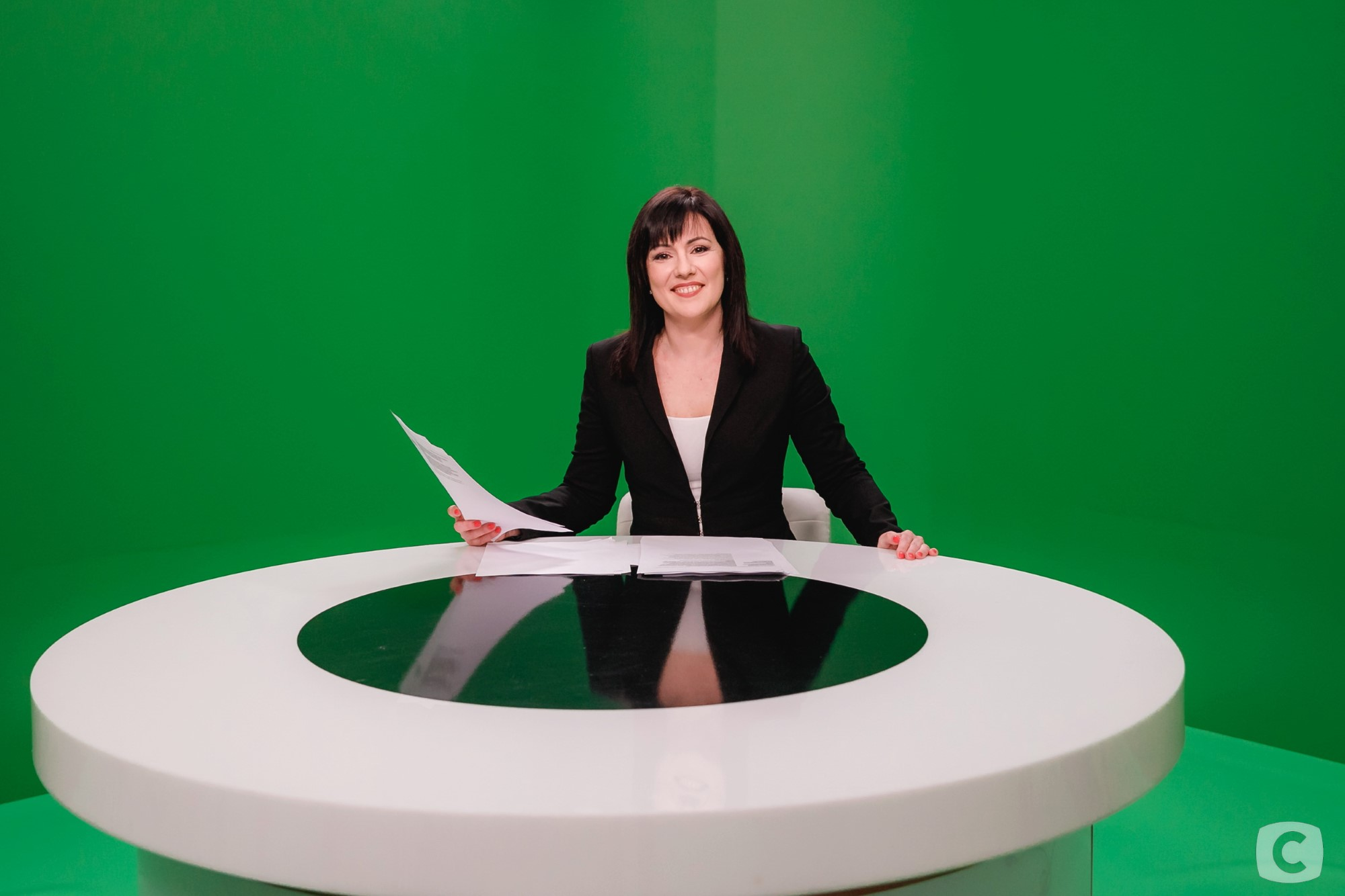 Ведущая новостей Татьяна Высоцкая