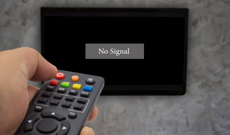 Нет сигнала / no tv signal