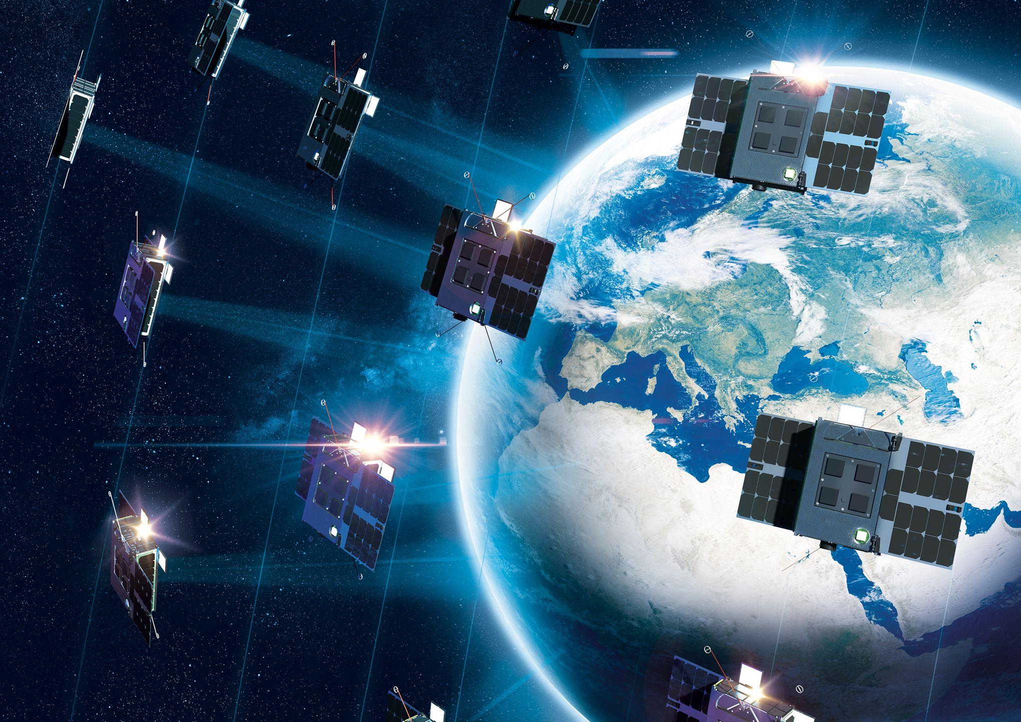 Наноспутники Eutelsat