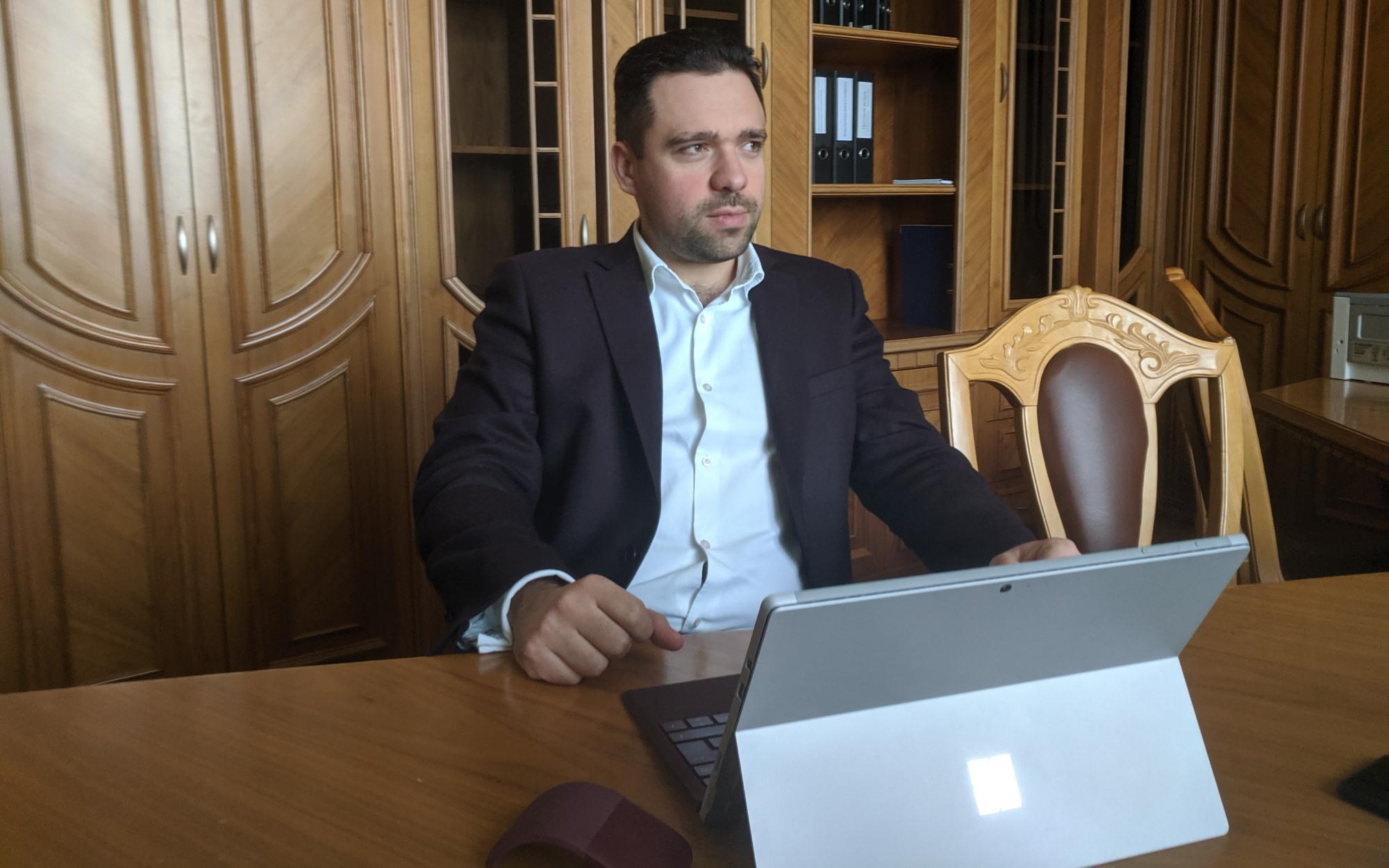 Заместитель министра цифровой трансформации Александр Шелест