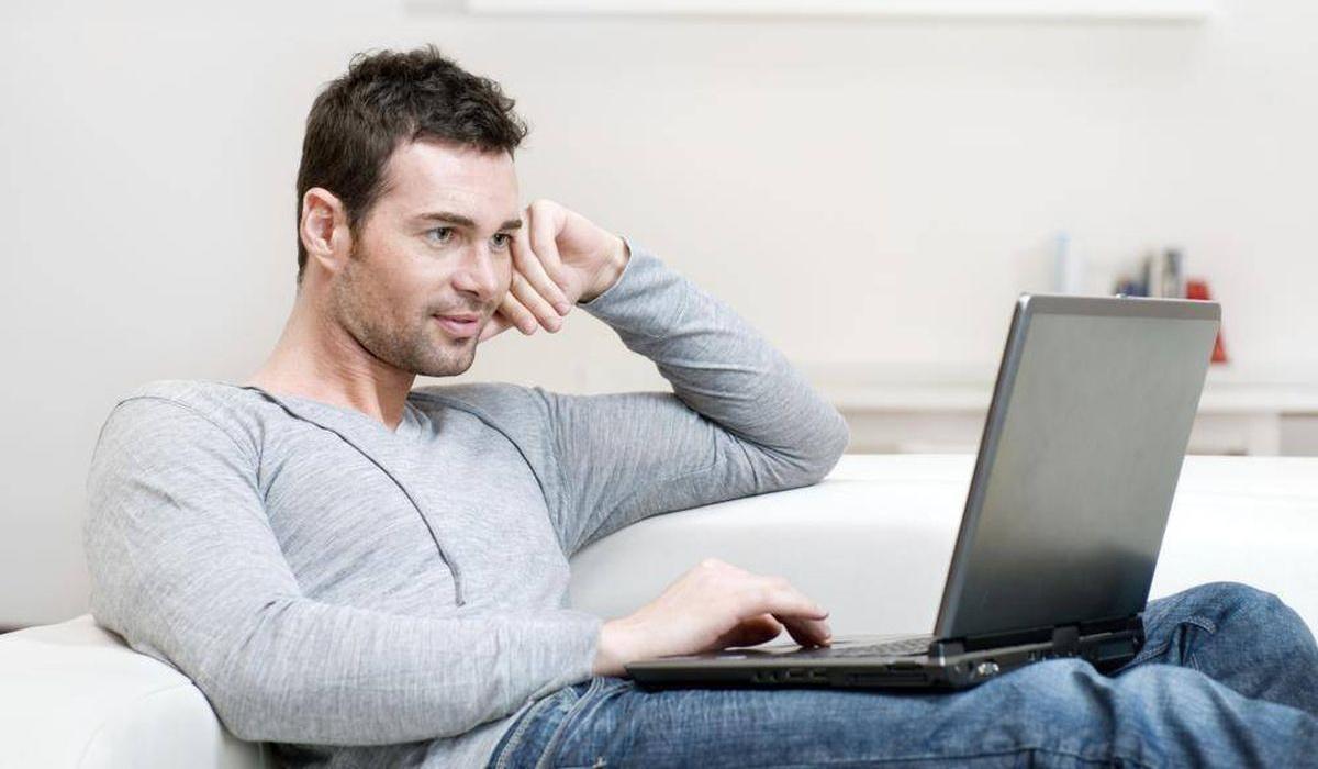 Мужчина в интернете / internet and man