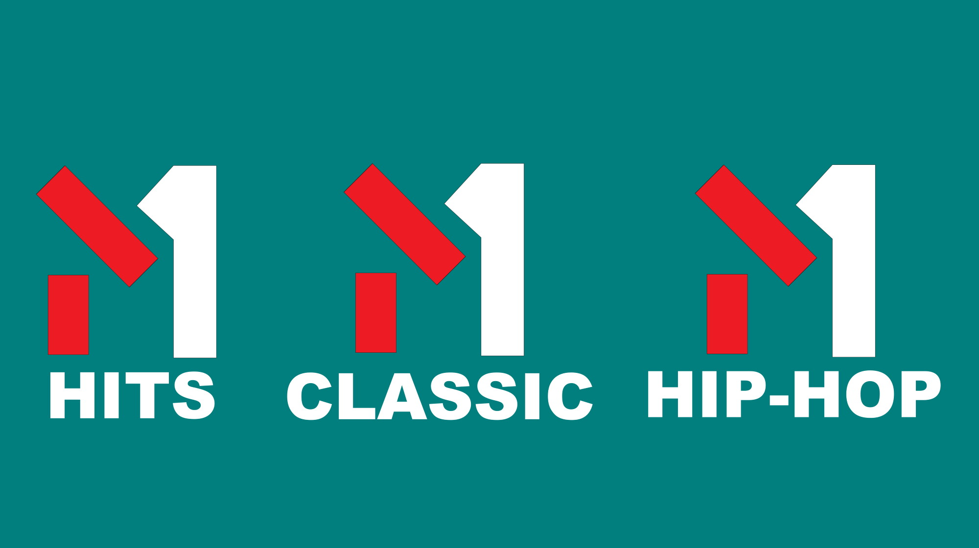 M1 CLASSIC, M1 HITS, M1 HIP-HOP