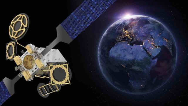 Спутник Nilesat 301