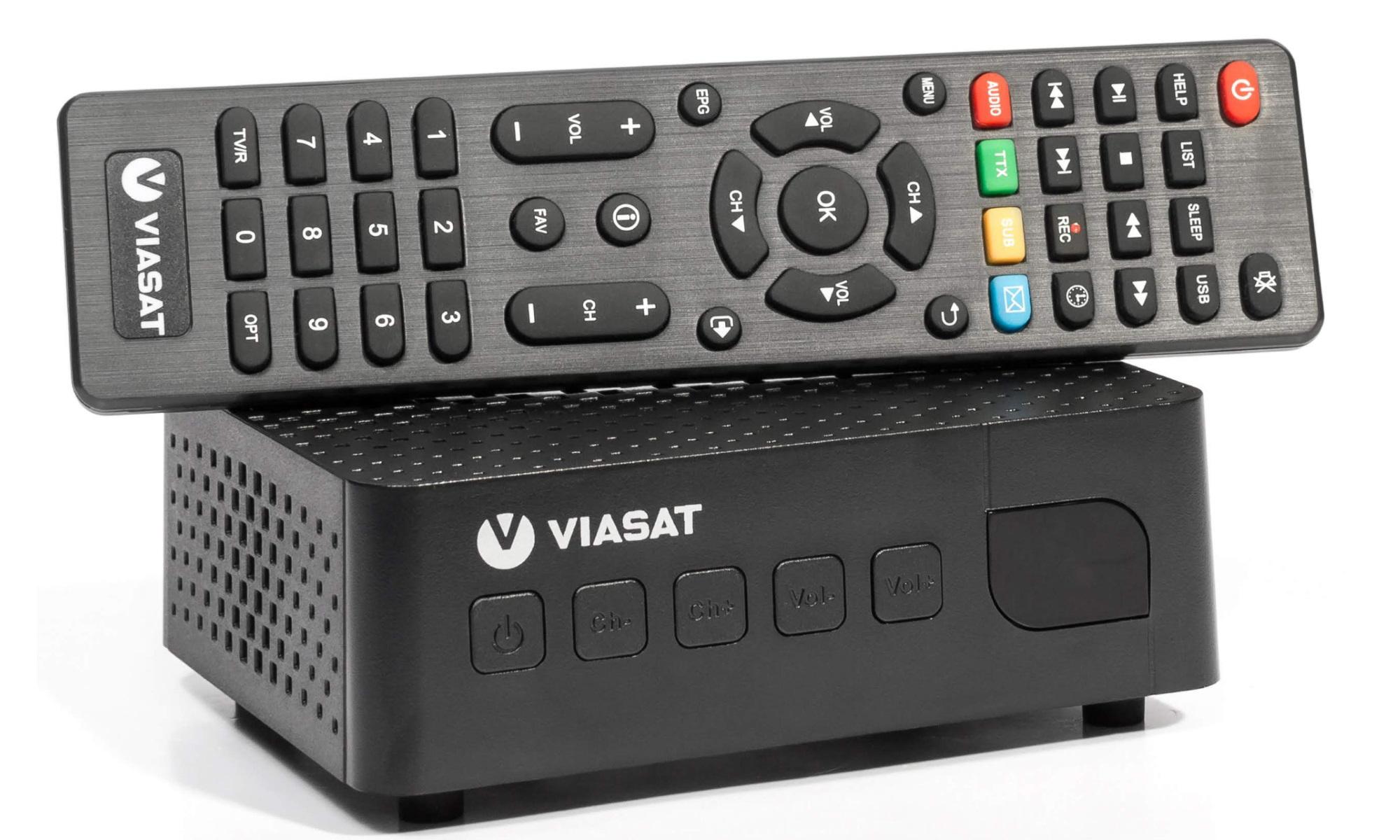 Спутниковый HD ресивер Romsat S2 TV Viasat