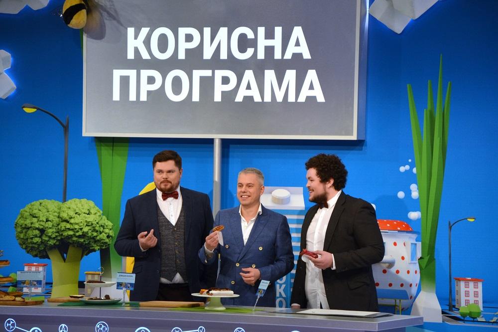 Александр Лукьяненко (ведущий «Полезной программы» и главный редактор телеканала НТН)