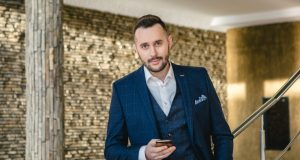 Александр Преподобный - ведущий программы Гроші на канале 1+1