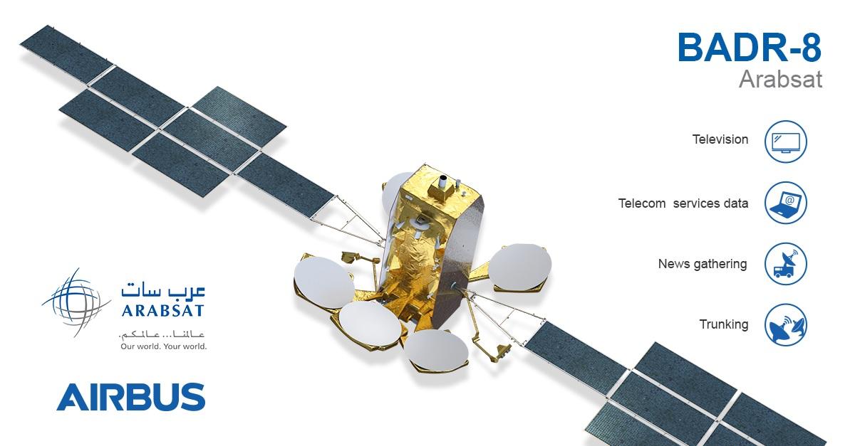 Airbus Arabsat Badr-8