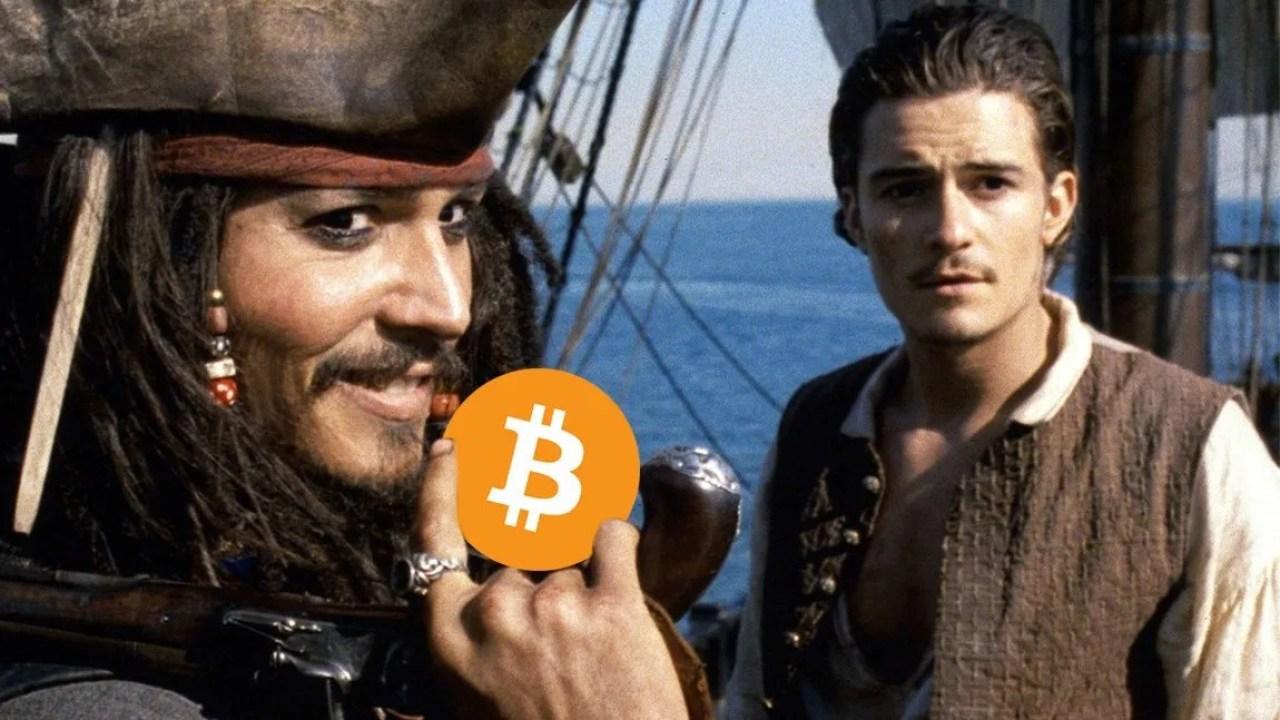 Криптовалюта пиратство