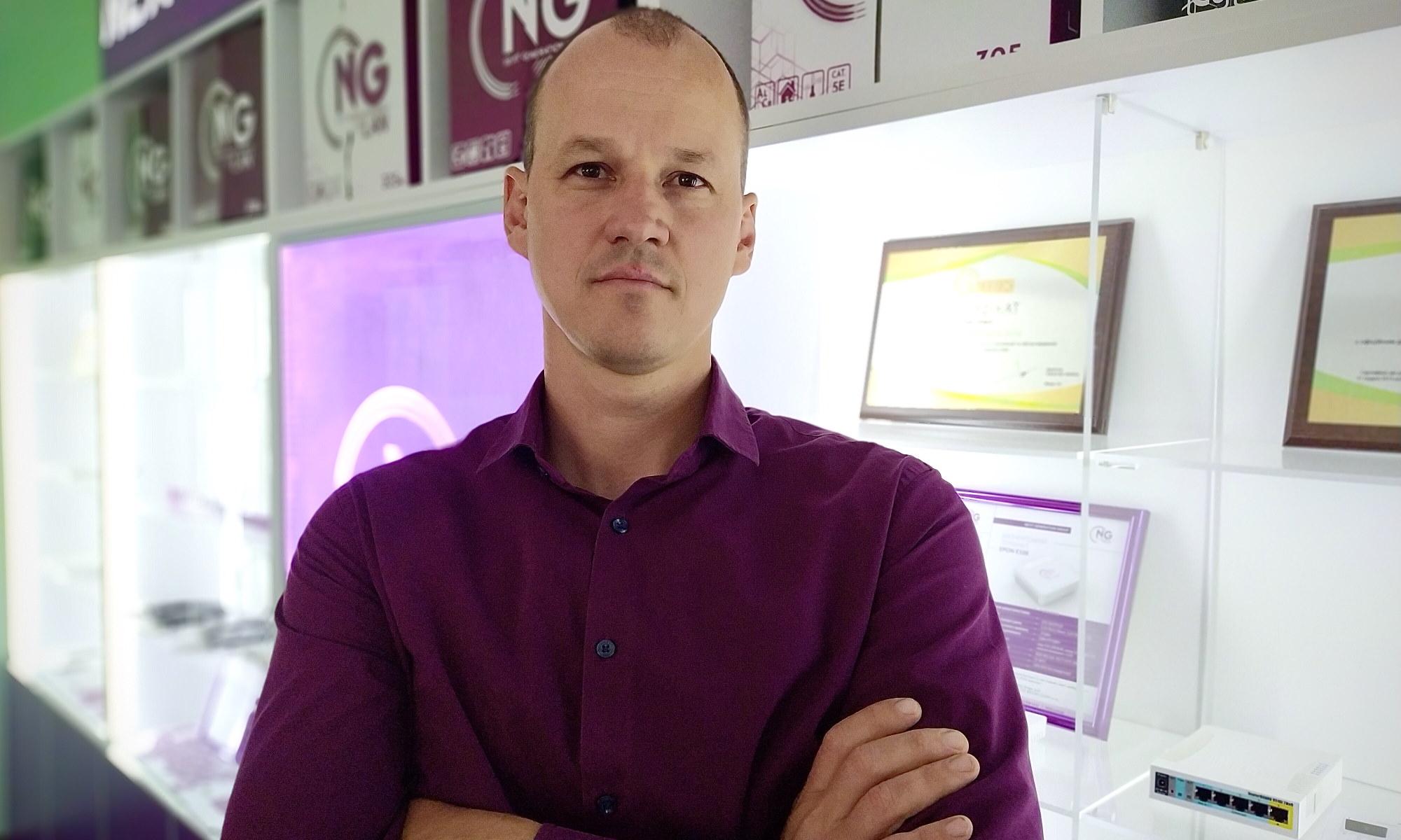 Тисовский Руслан, директор по развитию группы компаний NG Group