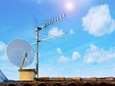 Спутниковая и эфирная антенна